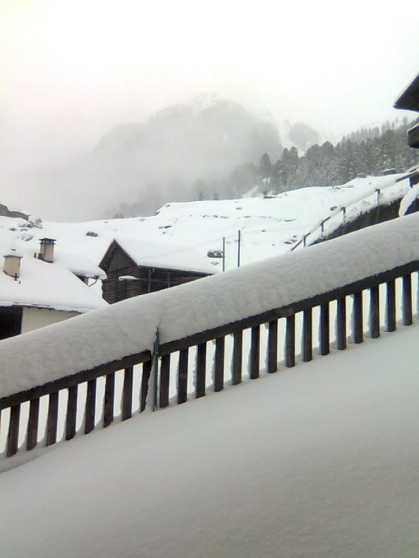 Schnee in Oktober 2011